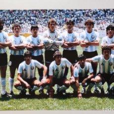 Coleccionismo deportivo: FOTOGRAFÍA FÚTBOL SELECCIÓN DE ARGENTINA. MUNDIAL MÉXICO 1986 DIEGO MARADONA.. Lote 288968523