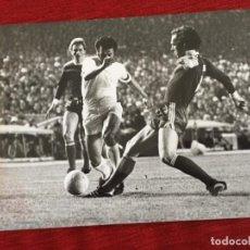 Coleccionismo deportivo: F16047 FOTO FOTOGRAFIA ORIGINAL DE PRENSA AMANCIO BECKENBAUER (31-3-1976) REAL MADRID BAYERN MUNCHEN. Lote 289488488