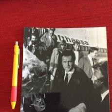 Coleccionismo deportivo: F16051 FOTO FOTOGRAFIA ORIGINAL DE PRENSA FRANZ BECKENBAUER BAYERN MUNCHEN EN MADRID. Lote 289489493