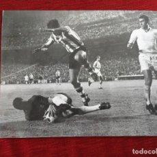 Coleccionismo deportivo: F16351 FOTO FOTOGRAFIA ORIGINAL DE PRENSA JUNQUERA PIRRI REAL MADRID ATHLETIC BILBAO (13-6-1970). Lote 290113628