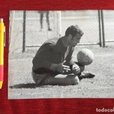 Coleccionismo deportivo: F16352 FOTO FOTOGRAFIA ORIGINAL DE PRENSA JUNQUERA REAL MADRID. Lote 290113788