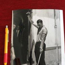 Coleccionismo deportivo: F16353 FOTO FOTOGRAFIA ORIGINAL DE PRENSA JUNQUERA REAL MADRID (28-7-1968) SIDRA. Lote 290113868