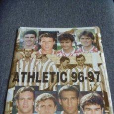 Coleccionismo deportivo: LOTE COMPLETO LÁMINAS ATHLETIC CLUB - TEMPORADA 1996-1997 - KIROLDI URZAIZ JULEN GUERRERO ZIGANDA. Lote 292135038