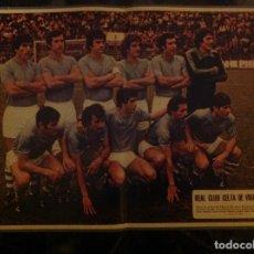 Coleccionismo deportivo: POSTER AS COLOR CELTA DE VIGO LIGA 78-79 1978 1979. Lote 292952443