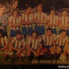 Coleccionismo deportivo: POSTER AS COLOR ATLÉTICO DE MADRID , LIGA 79-80 1979 1980. Lote 292952818