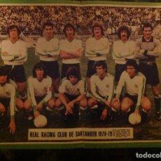 Coleccionismo deportivo: POSTER AS COLOR RACING DE SANTANDER , LIGA 78-79 1978 1979. Lote 292953223