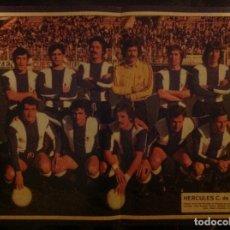 Coleccionismo deportivo: POSTER AS COLOR HÉRCULES LIGA 78-79 1978 1979. Lote 292955038