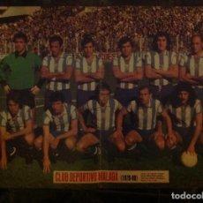 Coleccionismo deportivo: POSTER AS COLOR CLUB DEPORTIVO MÁLAGA. Lote 292955678