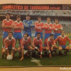 Coleccionismo deportivo: POSTER AS COLOR GIMNASTICO DE TARRAGONA LIGA 79-80 1979 1980 MINI POSTER. Lote 292956578