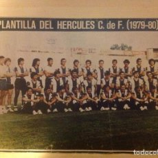 Coleccionismo deportivo: POSTER AS COLOR HÉRCULES LIGA 79-80 1979 1980 MINI POSTER. Lote 292956813