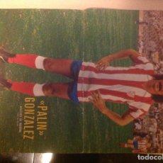 Coleccionismo deportivo: POSTER AS COLOR ATLÉTICO DE MADRID PALIN GONZALEZ. Lote 292957768