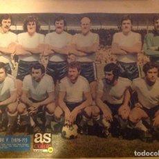Coleccionismo deportivo: POSTER AS COLOR BURGOS 76-77 1976 1977. Lote 292958998
