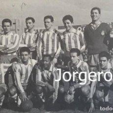 Colecionismo desportivo: R.C.D. ESPANYOL. ALINEACIÓN PARTIDO AMISTOSO 1960 EN SARRIÁ CONTRA ESPAÑOL B.A. FOTO. Lote 293676163