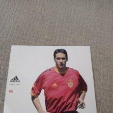 Colecionismo desportivo: POSTAL RAÚL GONZÁLEZ. SELECCIÓN ESPAÑOLA ADIDAS. Lote 294100063