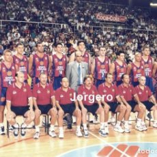 Coleccionismo deportivo: F.C. BARCELONA BALONCESTO 1997-1998. FOTO. Lote 295549603