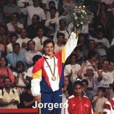 Coleccionismo deportivo: MIRIAM BLASCO. MEDALLA DE ORO JJ.OO. BARCELONA 1992. FOTO. Lote 295549633