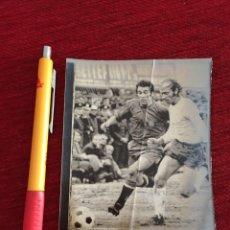 Coleccionismo deportivo: R15626 FOTO FOTOGRAFIA ORIGINAL DE PRENSA GRECIA 2-3 ESPAÑA (17-1-1973) AMANCIO. Lote 297177333