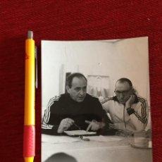 Coleccionismo deportivo: R15628 FOTO FOTOGRAFIA ORIGINAL DE PRENSA YUGOSLAVIA ENTRENADOR MILJAN MLADINIC. Lote 297178268