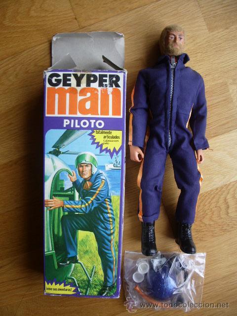 GEYPERMAN PILOTO HELICOPTERO (Juguetes - Figuras de Acción - Geyperman)