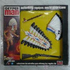 Geyperman: ACCESORIO JEFE INDIO GEYPERMAN. Lote 17750190