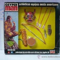 Geyperman: BLISTER COMPLEMENTO GEYPERMAN GUERRERO INDIO AÑOS 70. Lote 47313864