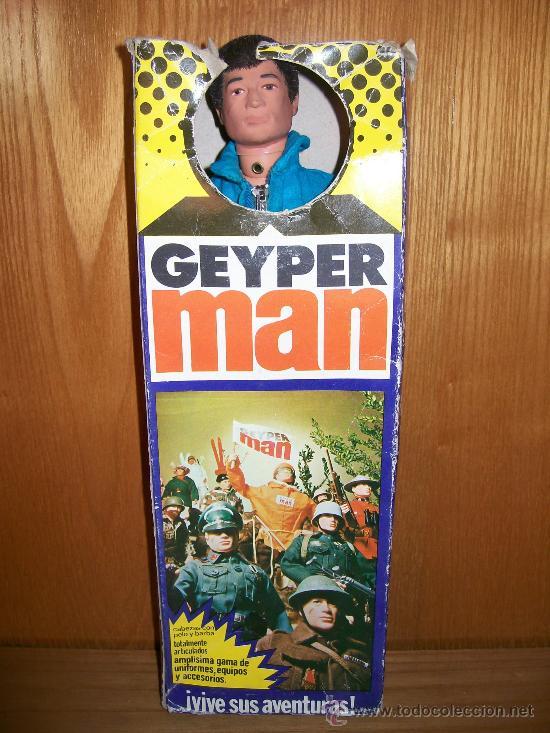 Geyperman: GEYPERMAN. REF. 7000. CAJA ORIGINAL !!!!! MANIQUI CON MONO. NO ACTION MAN - Foto 10 - 29695428