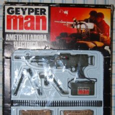 Geyperman: GEYPERMAN GEYPER MAN AMETRALLADORA ELECTRICA EN CAJA. Lote 29960363