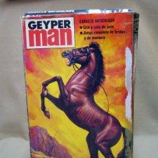 Geyperman: CABALLO ARTICULADO, COMPLEMENTO GEYPERMAN, EN CAJA. Lote 32719346