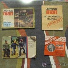 Geyperman: M69 LOTE DE CATALOGOS DE ACTION MAN AÑOS 70 ASI COMO PUBLICIDAD GEYPERMAN. Lote 33732657