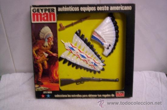 EQUIPO OESTE AMERICANO GEYPERMAN NUEVO EN CAJA (Juguetes - Figuras de Acción - Geyperman)