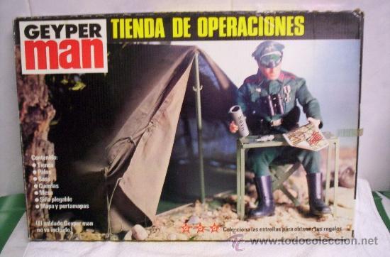 TIENDA DE OPERACIONES GEYPERMAN NUEVA EN CAJA (Juguetes - Figuras de Acción - Geyperman)