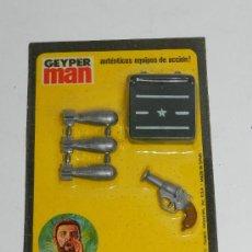 Geyperman: ACCESORIO GEYPERMAN, BLISTER REF 7309. A ESTENAR, PISTOLA DE SEÑALES.. Lote 233483125