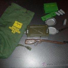 Geyperman: LOTE DE ACCESORIOS GEYPERMAN: AMMO BOX CON BOMBAS, MACUTO SPECIAL OPERATIONS, RIFLE CON FUNDA ETC. Lote 39198137