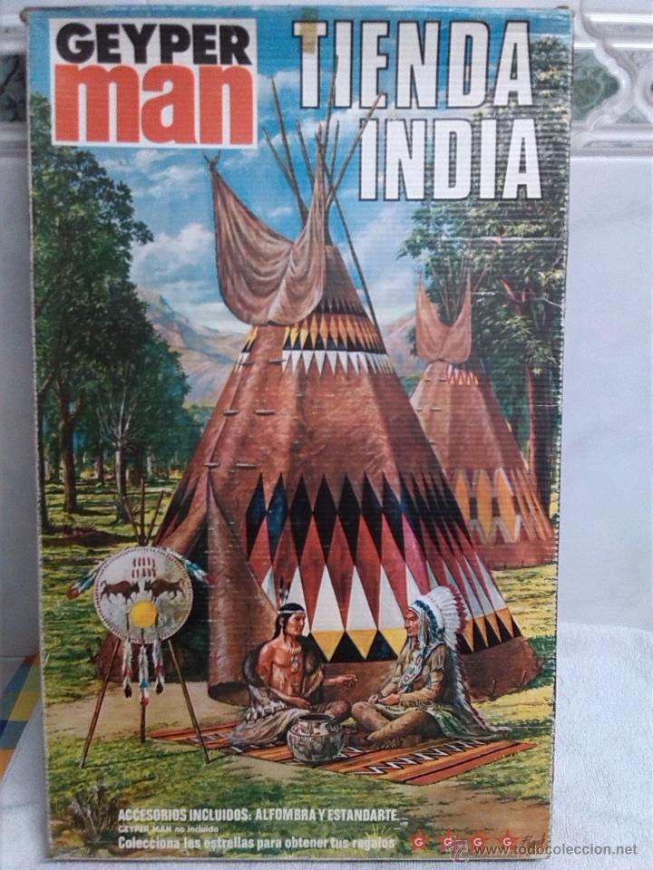 GEYPERMAN TIENDA INDIA EN CAJA SIN USO (Juguetes - Figuras de Acción - Geyperman)