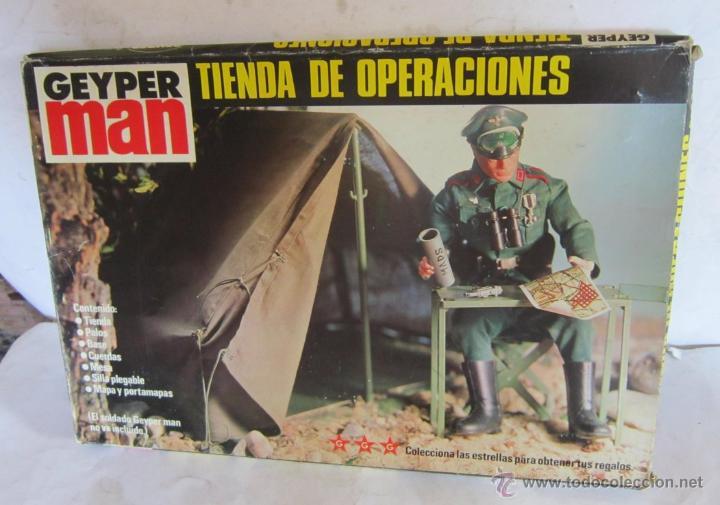 ACCESORIO GEYPERMAN TIENDA DE OPERACIONES, EN CAJA. CC (Juguetes - Figuras de Acción - Geyperman)