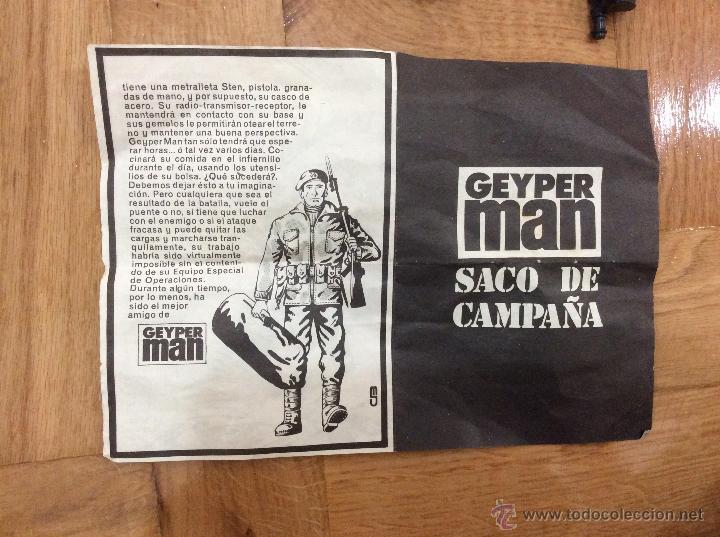 Geyperman: Lote de SIETE GEYPERMAN Y ACCESORIOS - Foto 9 - 51772749