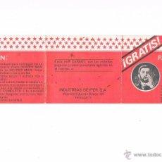 Geyperman: CARNET GEYPERMAN PUNTOS CARTILLA ESTRELLAS. Lote 54993654