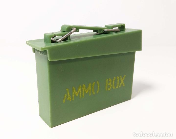 CAJA MALETÍN DE MUNICIONES - AMMO BOX GEYPERMAN - PRIMERA GENERACIÓN (Juguetes - Figuras de Acción - Geyperman)