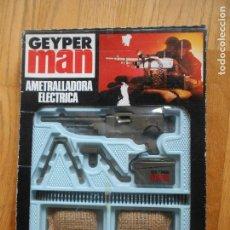 Geyperman: AMETRALLADORA ELECTRICA GEYPERMAN, EN SU CAJA ORIGINAL. Lote 149858576