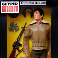 Geyperman: REEDICIÓN GEYPERMAN COMANDANTE DE TANQUES A ESTRENAR. Lote 120092067