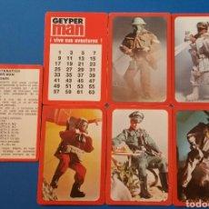 Geyperman: CARTAS NAIPES JUEGO MATEMÁTICO - DE MAGIA COMPLETO GEYPERMAN (GEYPER-MAN) NAIPES COMAS. Lote 76072965