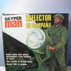 Geyperman: GEYPERMAN REFLECTOR REFERENCIA 7416 ORIGINAL AÑOS 70 EN CAJA. Lote 83014120