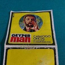 Geyperman: CATÁLOGO OFICIAL GEYPERMAN, GEYPER MAN. Lote 88798512
