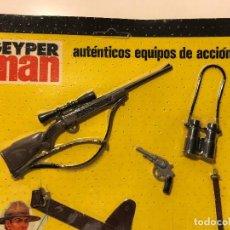 Geyperman: GEYPERMAN BLISTER ACCESORIOS POLICIA MONTADA DEL CANADA AÑOS '70. Lote 90386012