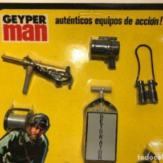 Geyperman: GEYPERMAN BLISTER ACCESORIOS COMANDO SECRETO REF. 7110/4 AÑOS '70. Lote 90386216