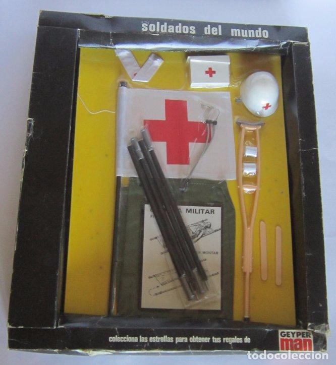 ACCESORIO GEYPERMAN MEDICO MILITAR EN CAJA. CC (Juguetes - Figuras de Acción - Geyperman)