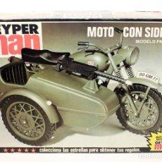 Geyperman: GEYPERMAN MOTO MILITAR CON SIDECAR - EN CAJA - NUNCA JUGADA - AÑOS 70. Lote 95888503