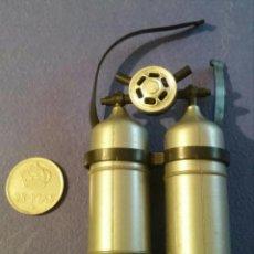 Geyperman: BOMBONAS OXIGENO GEYPERMAN HOMBRE RANA ORIGINALES 70. Lote 98179059