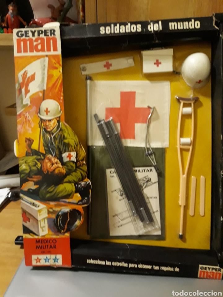 GEYPERMAN MEDICO MILITAR EN CAJA (Juguetes - Figuras de Acción - Geyperman)