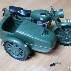 Geyperman: GEYPERMAN MOTO MILITAR CON SIDECAR ORIGINAL GEYPER. Lote 105337223